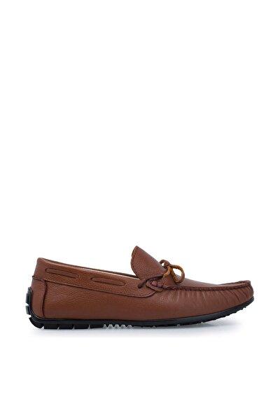 Hakiki Deri Taba Erkek Loafer Ayakkabı 516M1300D