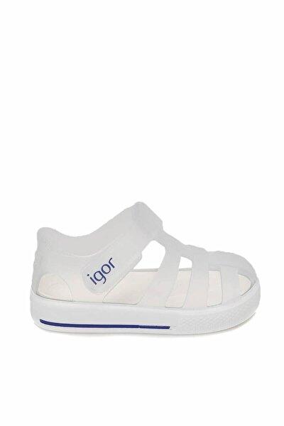 S10171 Star-ö41 Beyaz Unisex Çocuk Sandalet 100346399