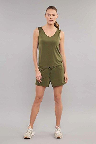 Yeşil Kadın Tulum ES-3635
