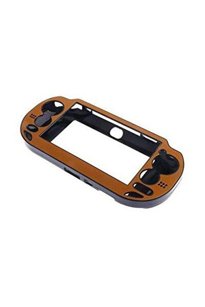 PS Vita Korumalı Taşıma Kasası - Turuncu Alüminyum