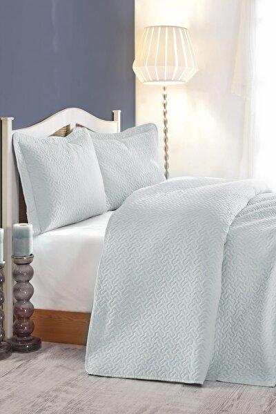 Daily Çift Kişilik Yatak Örtüsü Mavi