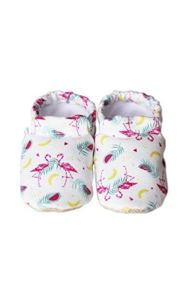 Muzlu Flamingo Model Kaydırmaz Bebek Patiği