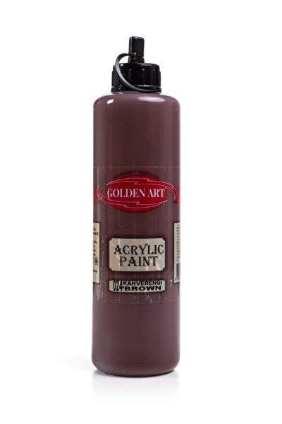 Golden Art Akrilik Boya 500ml - 024 Kahverengi