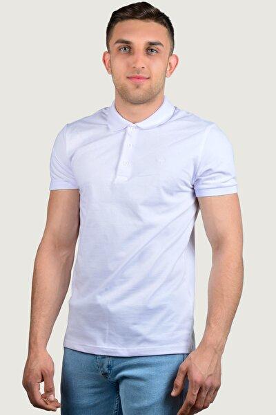 Erkek Polo Yaka T-Shirt 9Y-3400518-001 Beyaz