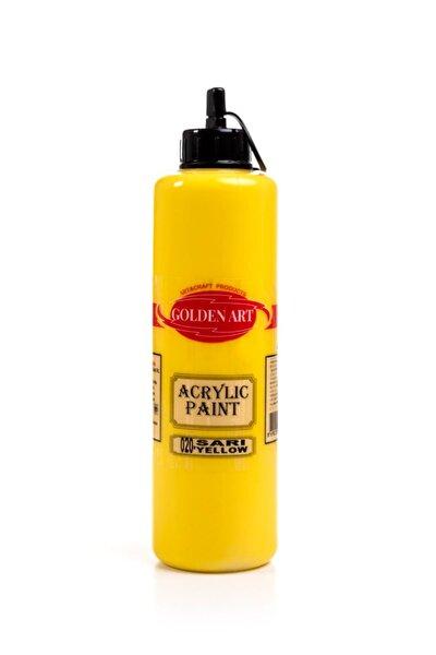 Golden Art Akrilik Boya 500ml - 020 Sarı