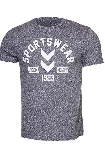 HMLFALLE T-SHIRT S/S Gri Erkek T-Shirt 100580931