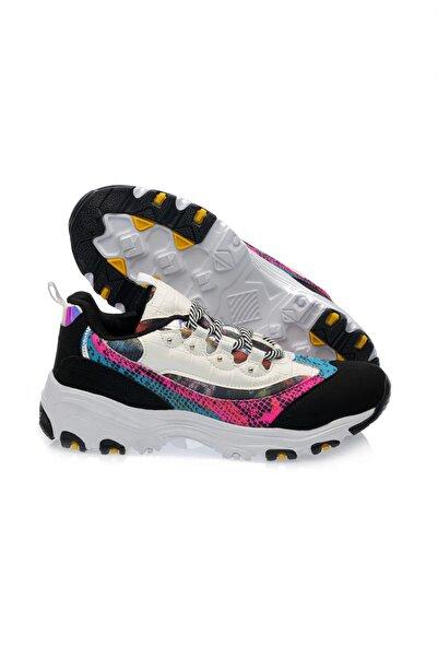 Siyah Pembe Kadın Sneaker 9150497Z