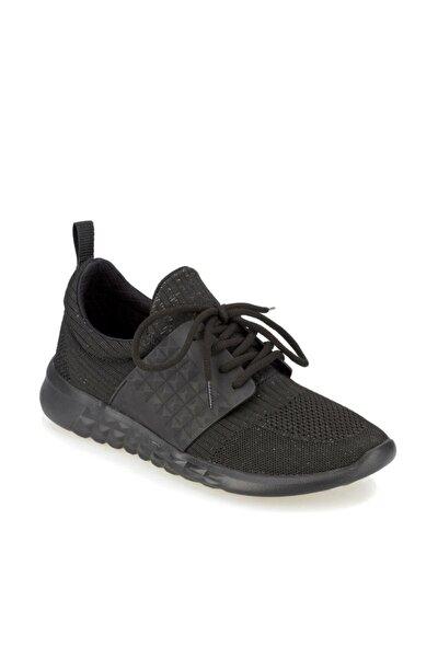 LOGAN Siyah Erkek Kalın Taban Sneaker Spor Ayakkabı 100370271