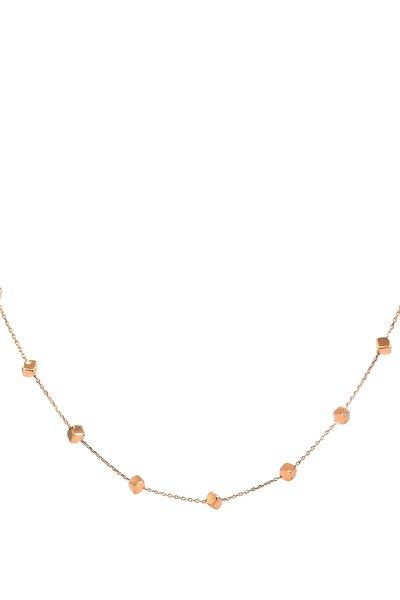 Kadın Küp Koleksiyon Altın Kolye KL098170