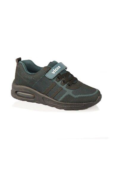 Genç Siyah Spor Ayakkabı