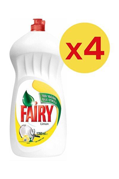 Sıvı Bulaşık Deterjanı Limon Avantaj Paketi 4 x 1350 ml