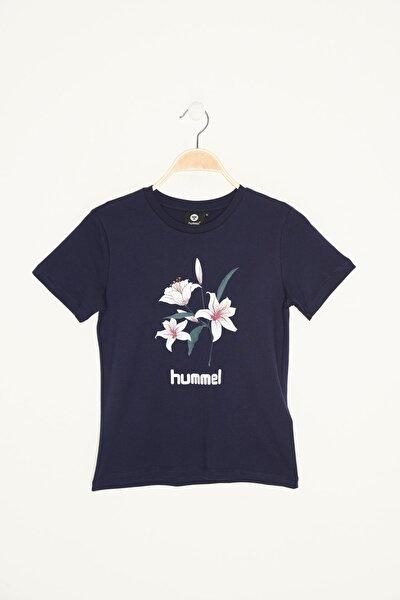 HMLNEVES  T-SHIRT S/S TEE Gri Kız Çocuk T-Shirt 100579847