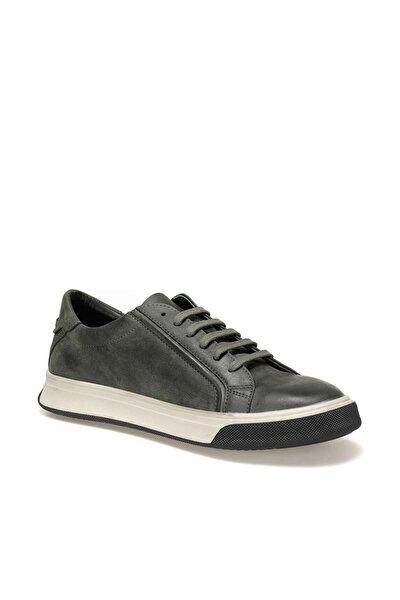 9104 Haki Erkek Kalın Taban Sneaker Spor Ayakkabı 100440981