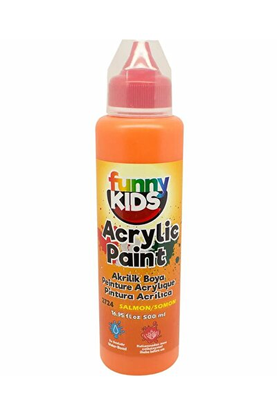 Funny Kids Akrilik Boya 500ml - 2724 Somon