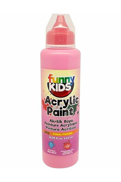 Funny Kids Akrilik Boya 500ml - 2712 Pembe