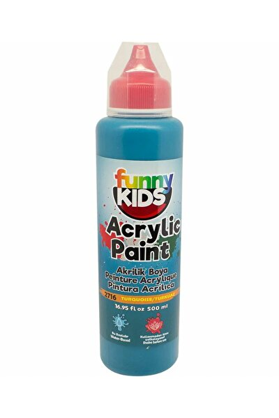 Funny Kids Akrilik Boya 500ml - 2716 Turkuaz