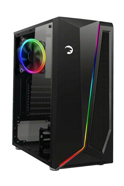 Dark Side Pencereli RGB Fanlı-Modlu Gaming Oyuncu Bilgisayar Kasası PSU Yok