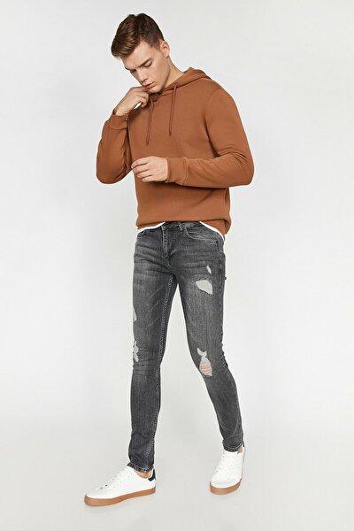 Erkek Gri Trousers 0KAM43691LD