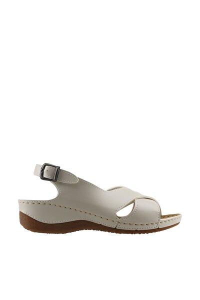 Krem Kadın Sandalet 19YAYMU97201