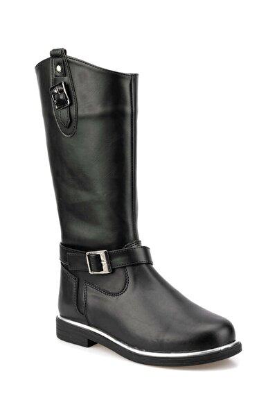 92.511825.F Siyah Kız Çocuk Basic Casual Ayakkabı 100423333