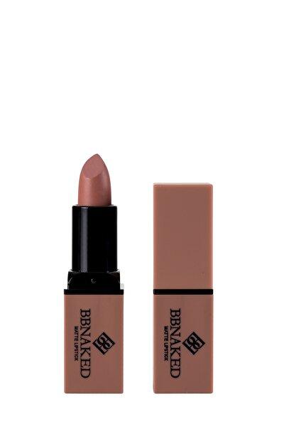 Mat Ruj - Matte Lipstick Pembe BBK-MLS03 BB Naked Professional Makeup 8682367009036