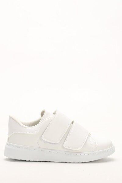 Beyaz Kadın Spor Ayakkabı M4000-19-101003R