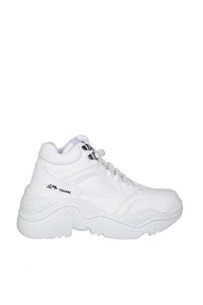 Beyaz Unisex Yürüyüş Ayakkabısı 19M001111057-01