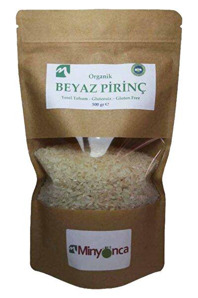 Organik Glutensiz Beyaz Pirinç 500 Gr