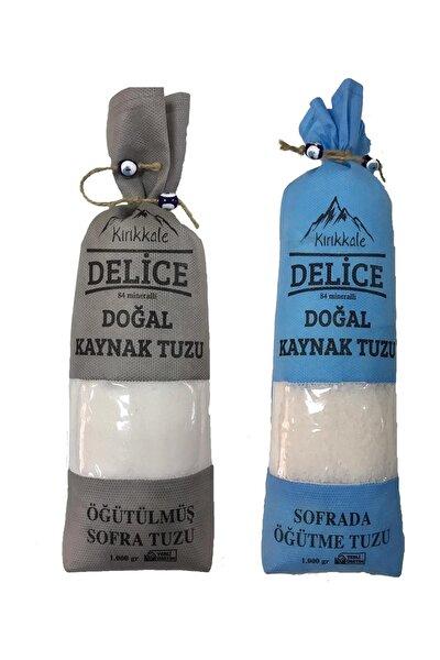Kırıkkale Delice Kaynak Tuzu Sofrada Öğütme + Öğütülmüş Tuzu 2KG