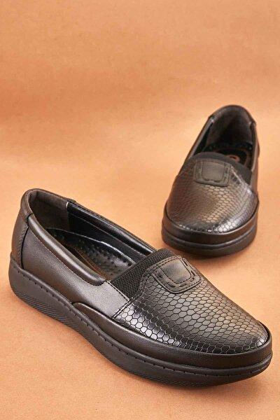 Siyah Kadın Casual Ayakkabı K0501001109