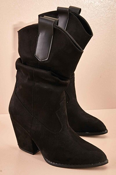 Siyah Kadın Çizme K06390208