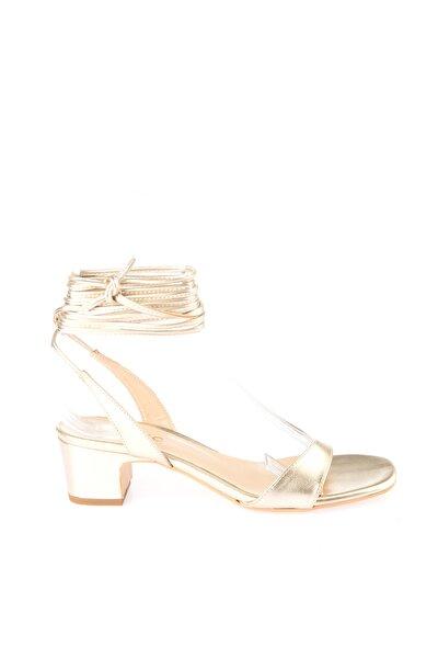 Altın Kadın Sandalet 01SAH146380A540
