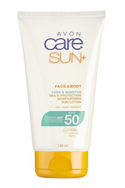 Yüz ve Vücut için Güneş Losyonu Spf 50 150 ml 5050136625184
