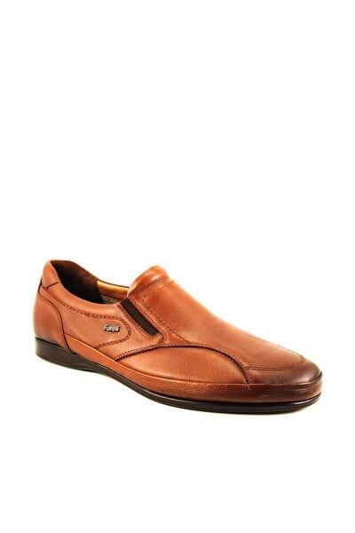 46102 Erkek Taba Halluks Deri Ayakkabısı
