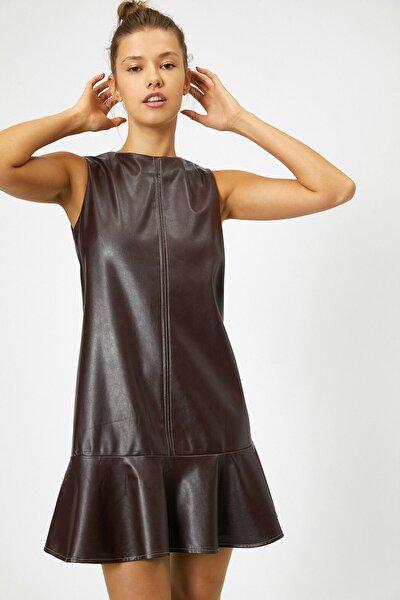 Kadın Bordo Elbise 0KAL88412IW