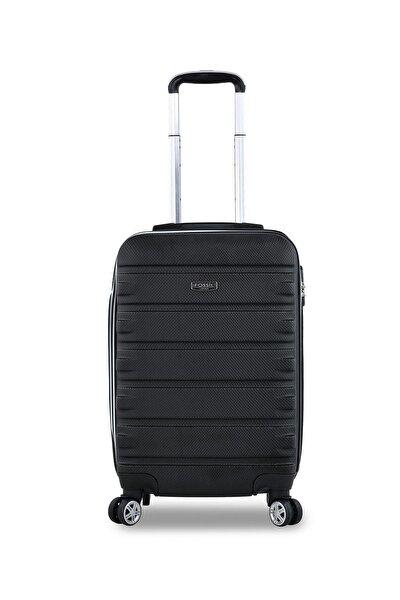 Siyah Unisex Kabin Boy Valiz Fossıl1116Kabın