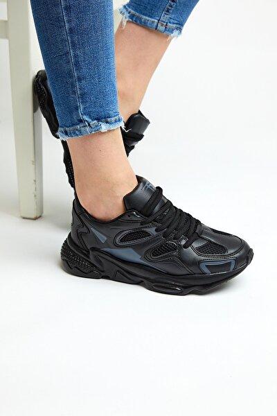 Siyah Unisex Sneaker TB252-0