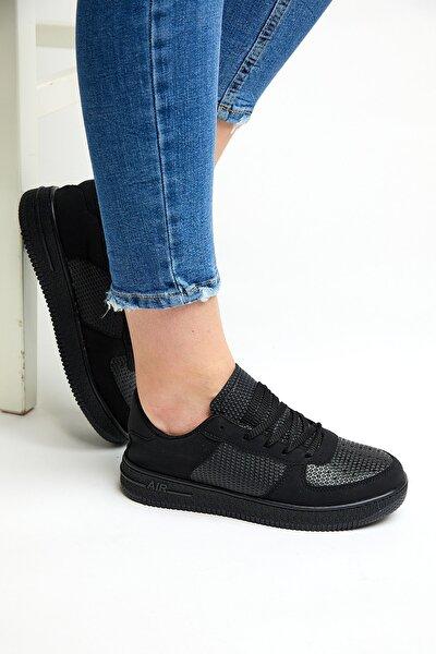 Siyah Cilt Unısex Spor Ayakkabı Tb2005