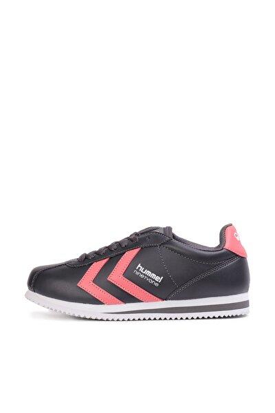 Ninetyone Siyah-Pembe Kadın Sneaker