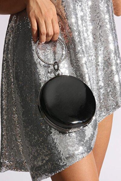 Siyah Kadın Abiye Çanta 90501526-03