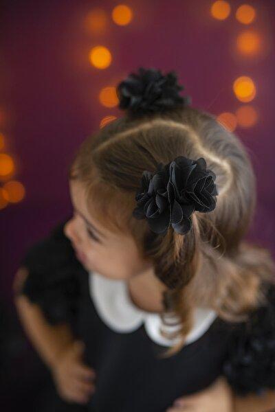 Siyah Kız Çocuk 2'li Klips Frida