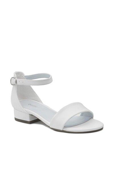 Beyaz Kadın Klasik Topuklu Ayakkabı GDKPSL22368Y0230000