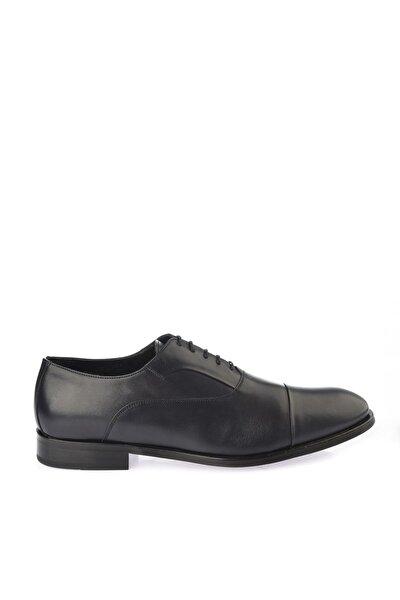 Hakiki Deri Siyah Erkek Klasik Ayakkabı 02AYH138920A680
