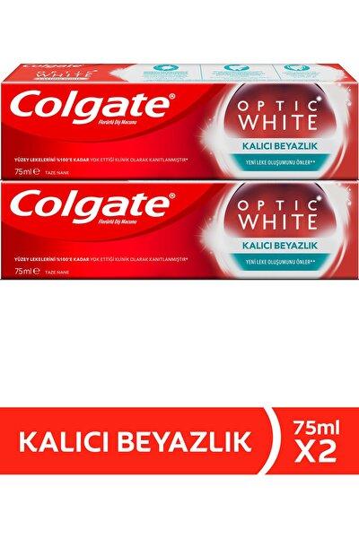 Optik Beyaz Kalıcı Beyazlık Beyazlatıcı Diş Macunu 75 ml  x 2 Adet