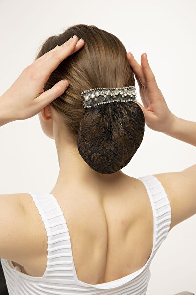 Beyoğlu Topuz Saç Tokası Siyah
