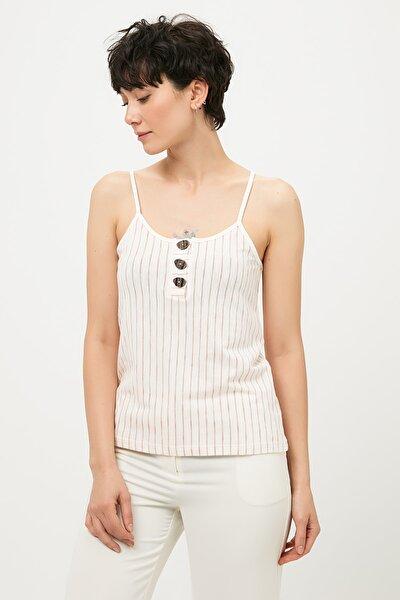 Kadın Beyaz Bluz IS1190070384