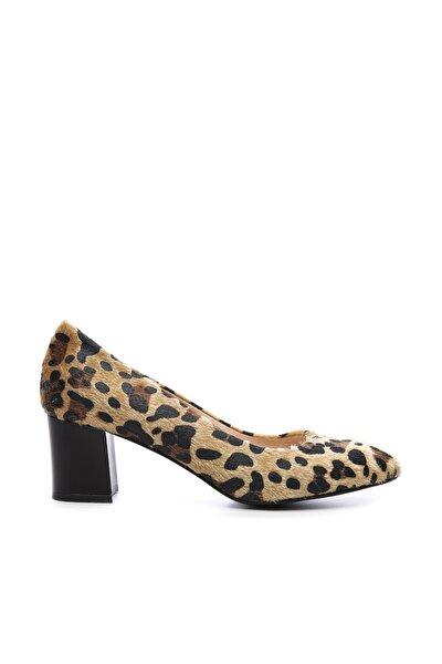 Multi Renk Kadın Vegan Klasik Topuklu Ayakkabı 723 100 BN AYK SK19-20