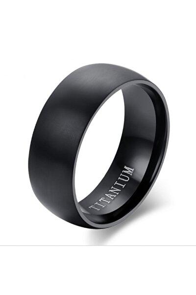 Mat Siyah Titanyum Alyans Yüzük Dg98 Ehy-Dg98