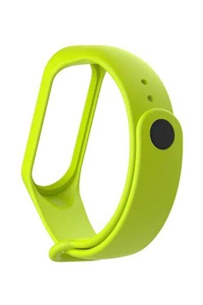 Xiaomi Mi Band 4 Saat Kayışı Yeşil Ent Kaliteli Termoplastik