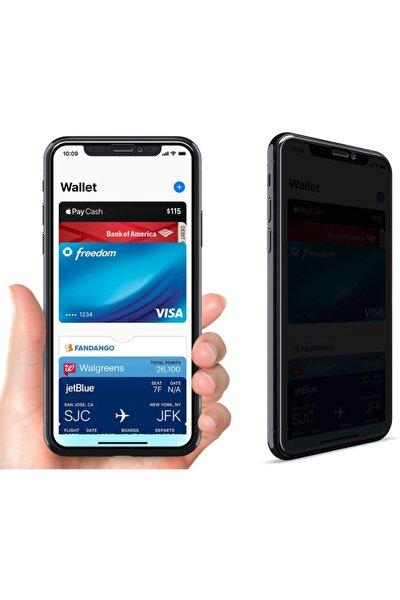 Iphone Xr Privacy Gizlilik Filtreli Tam Kaplayan Tempered Cam - Siyah